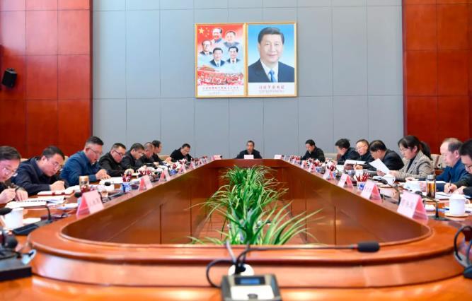 普布顿珠主持召开市委全面深化改革委员会会议