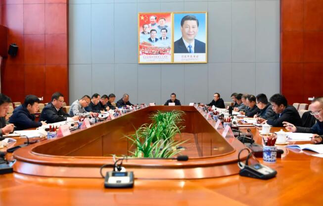 普布顿珠主持召开市委网络安全和信息化委员会会议